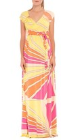 Olian Women's 'Trisha' Maxi Maternity Dress