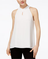 Bar III Tie-Back Keyhole Top, Only at Macy's