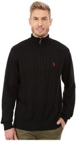 U.S. Polo Assn. 1/4 Zip Cable Sweater