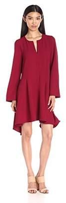 BCBGMAXAZRIA Azria Women's Geena Hankerchief Dress