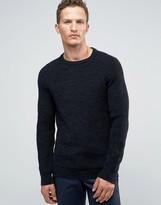 Jack and Jones Slim Ribbed Sweater
