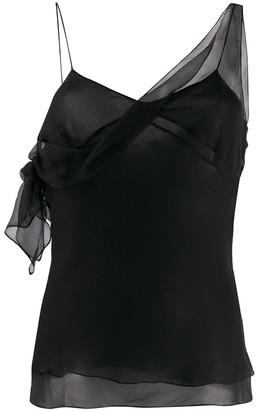 Christian Dior 2000s Pre-Owned Sheer Slip Vest