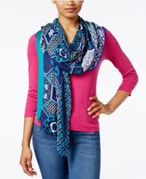 INC International Concepts Chinois Tile Printed Wrap, Only at Macy's