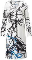 Jigsaw Butterfly Series Trapeze Dress