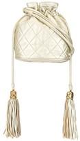 Chanel Pre Owned 1990s tassel drawstring shoulder bag