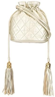 1990s Tassel Drawstring Shoulder Bag