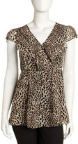 Romeo & Juliet Couture Leopard-Print Tunic