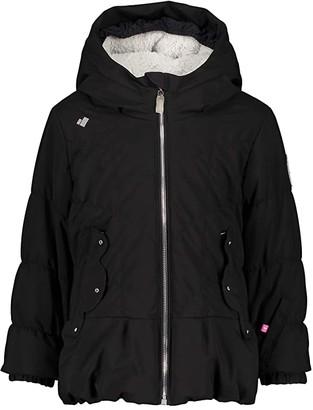 Obermeyer Margot Swarovski Crystals Jacket (Toddler/Little Kids/Big Kids) (Black) Girl's Jacket