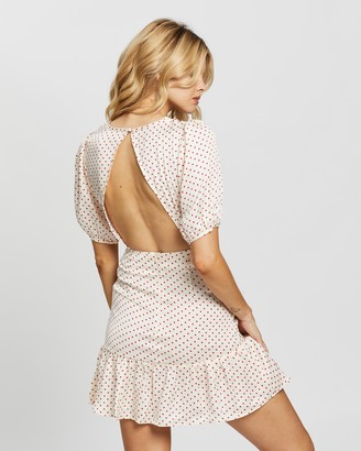 Glamorous Polkadot Mini Dress