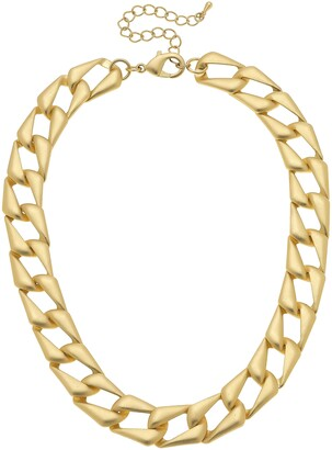 Canvas Jewelry Chiara Statement Chain Necklace