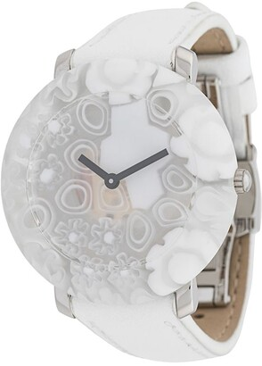 Yunik Small Round White Flowers 36mm