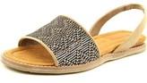 BearPaw Meeka Open-toe Canvas Slingback Sandal.