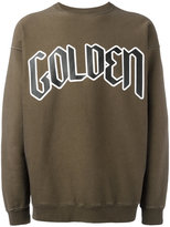 Golden Goose Deluxe Brand typography branded sweatshirt - men - Cotton - XS