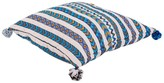 Karma Living Chevron Pillow - 24 x 24 - Blue