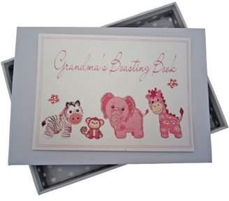 White Cotton Cards Grandma's Boasting Book Photo Album (Tiny, Pink)