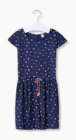 Esprit Flowing dress w a polka dot pattern