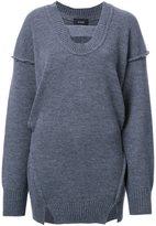 G.V.G.V. raw edge 'Maiko' blouse