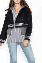 Sea Navy Sailor Jacket