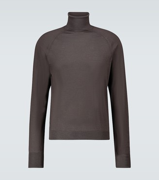 Lemaire Wool-blend turtleneck sweater