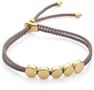 Monica Vinader Linear Bead Mink bracelet