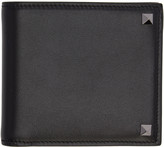 Valentino Black Big Rockstud Wallet