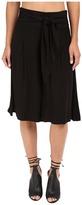 BB Dakota Barb Rayon Twill Wide Leg Culottes
