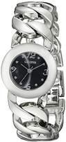 Geneva Women's FMDJM116 Analog Display Quartz Silver Watch