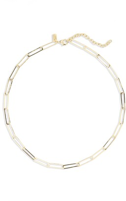 Melinda Maria Chain Link Necklace