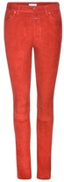 Closed Lizzy Slim Fit Suede Trousers