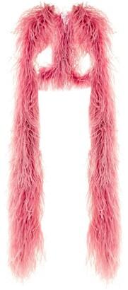 16Arlington Multiway Feather Boa Shawl