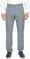 Perry Ellis Slim Fit Linen Cotton End on End Dress Pants Men's Dress Pants