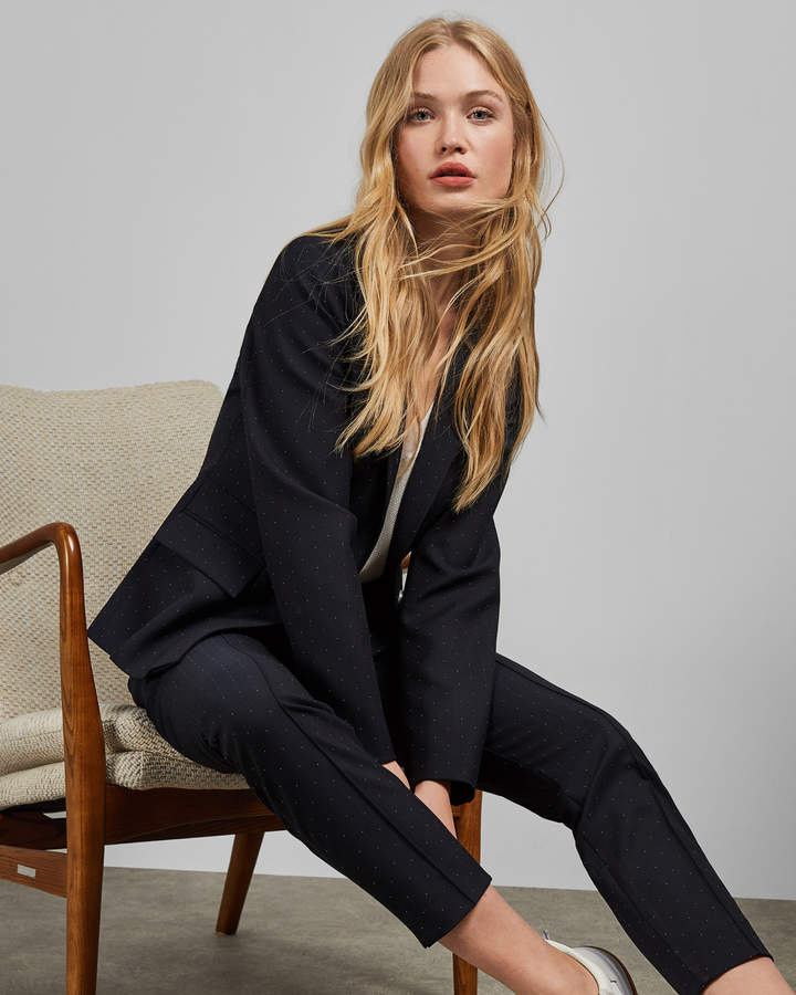 Ted Baker ANABELI Spotted suit jacket