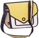 FZAY 3D Style 2D Drawing Cartoon Handbag Shoulder Canvas Messenger Bag Bow Handbags