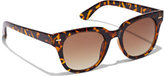 New York & Co. Faux-Tortoise Square-Frame Sunglasses