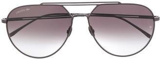 Lacoste Aviator Shaped Sunglasses