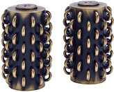 L'OBJET Tulum Rings Spice Jewels Salt & Pepper Shaker Set