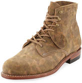 Wolverine Camouflage-Print 1000 Mile Boot, Green
