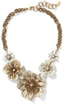 Banana Republic Elizabeth Cole | Limited Edition Crystal Statement Necklace
