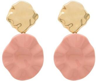 Joanna Laura Constantine Feminine Waves drop earrings
