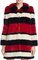 Alice + Olivia Kinsley Faux-Fur Coat