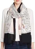 Kate Spade Map of Manhattan Scarf