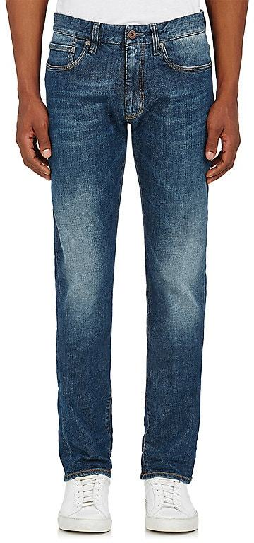 Incotex MEN'S DISTRESSED JEANS