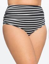 ELOQUII Ruched High Waist Bikini Bottom