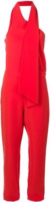 Lanvin Scarf Collar Jumpsuit