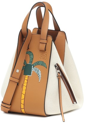 Loewe x Ken Price Hammock Small leather shoulder bag