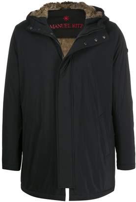 Manuel Ritz hooded padded coat