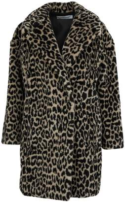 Harris Wharf London Leopard coat