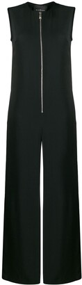 John Richmond sleeveless wide-leg jumpsuit