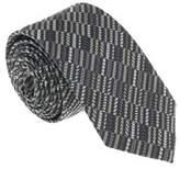 Missoni U5518 Gray/silver Graphic 100% Silk Tie.