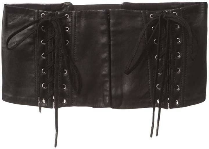 Fleur Du Mal lace up corset belt